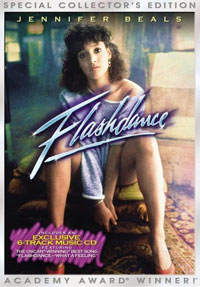 Flashdance DVD box cover